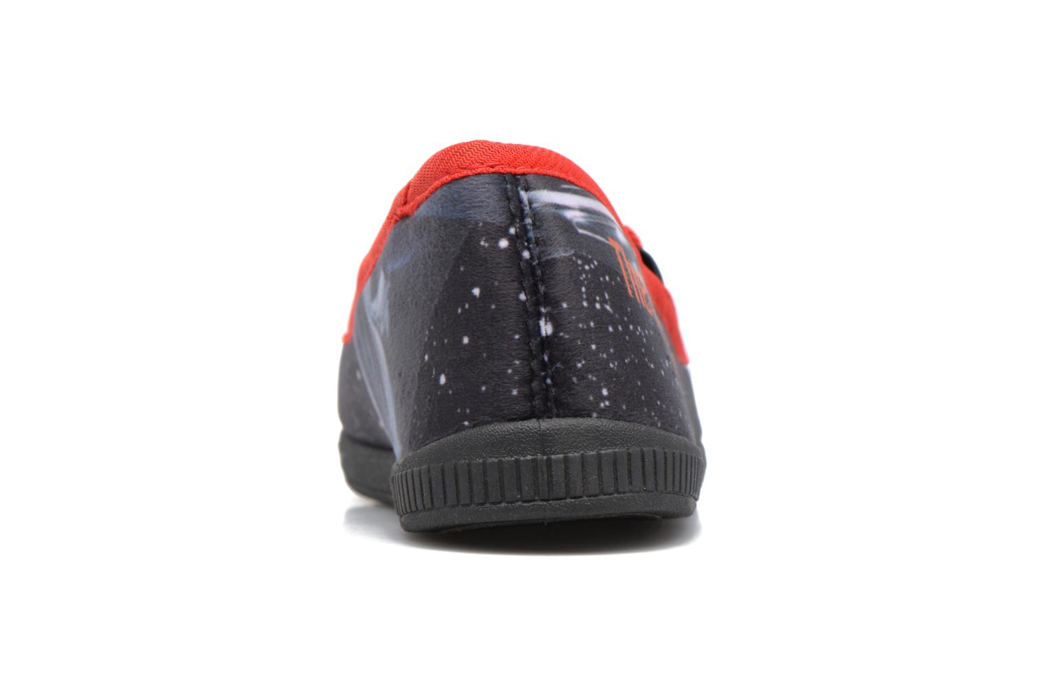 Chaussons Star Wars Sauvage Rouge vue droite