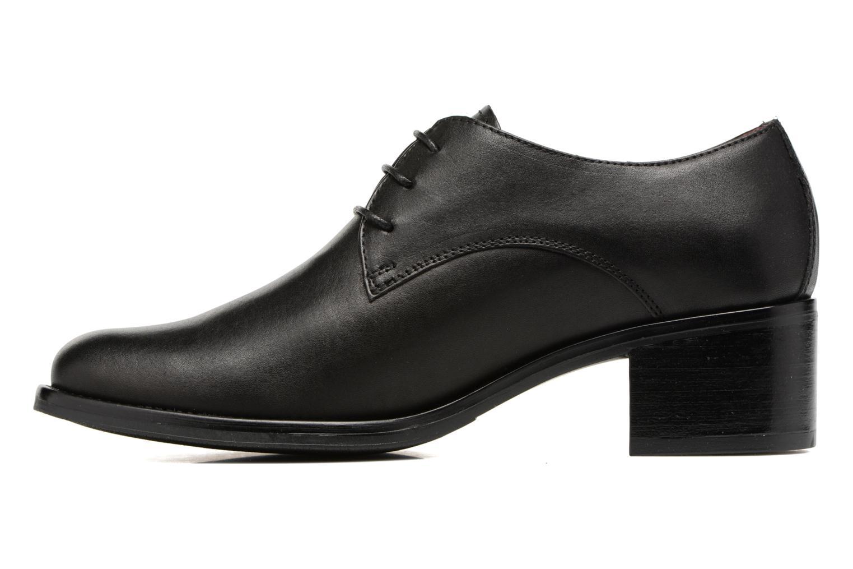 Chaussures à lacets Georgia Rose Nelace Noir vue face