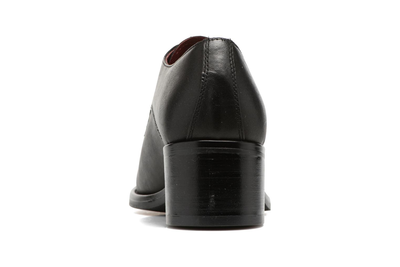 Chaussures à lacets Georgia Rose Nelace Noir vue droite