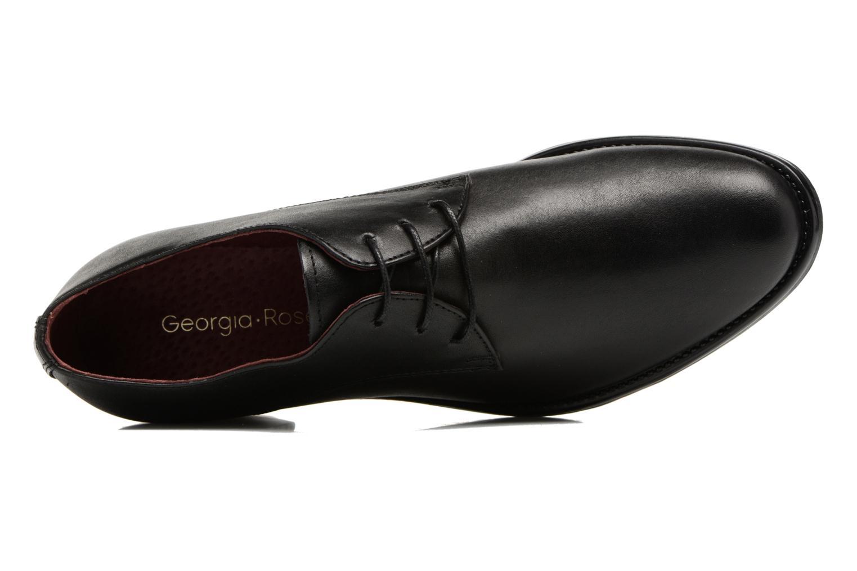 Chaussures à lacets Georgia Rose Nelace Noir vue gauche