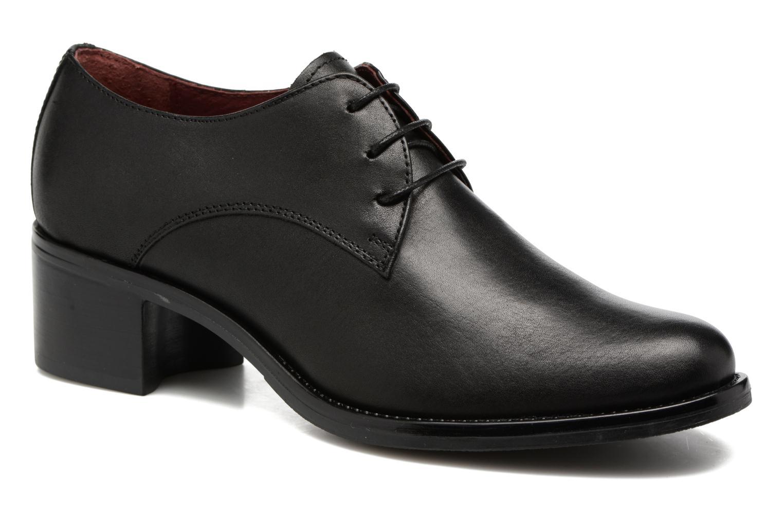 Chaussures à lacets Georgia Rose Nelace Noir vue détail/paire