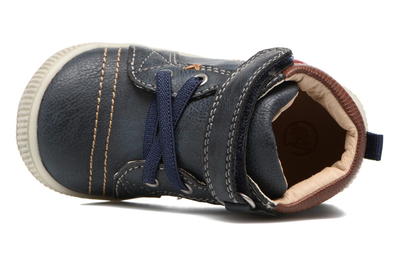 Bottines et boots NA! Axel Bleu vue gauche