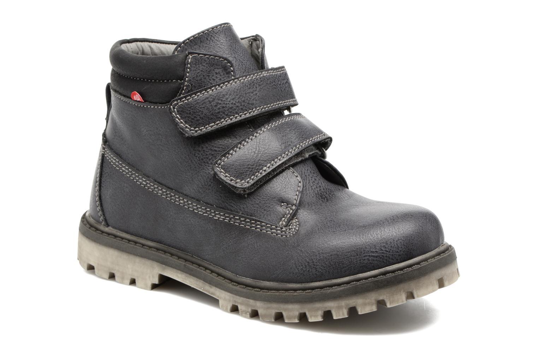 Bottines et boots NA! Anako Gris vue détail/paire