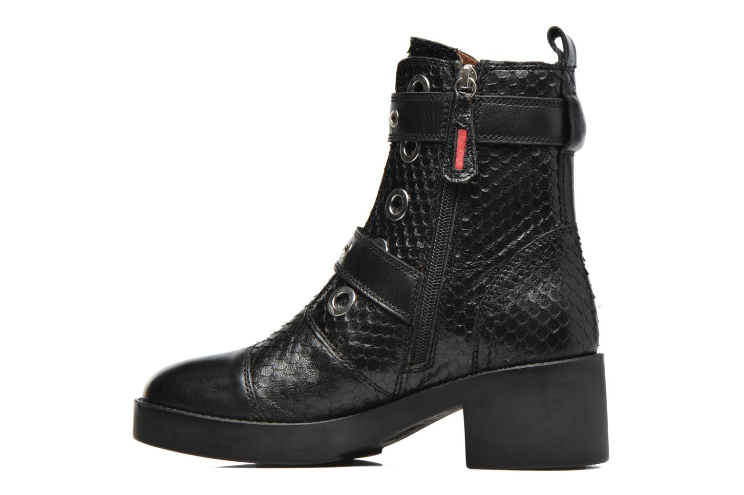 Ankle boots Gioseppo DOUBLON Black front view