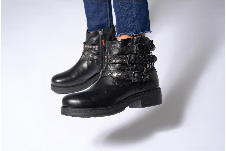 Bottines et boots Gioseppo Cible Noir vue bas / vue portée sac