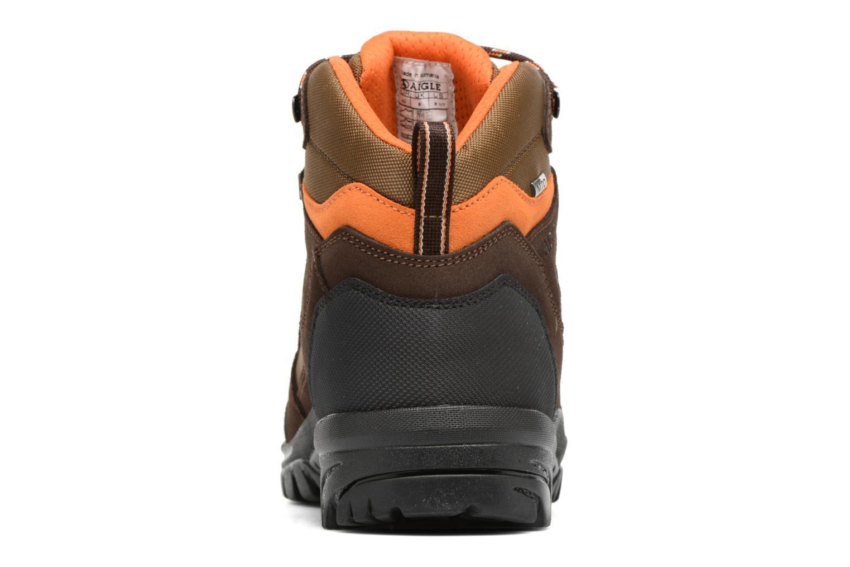 Chaussures de sport Aigle Arven Mid MTD Marron vue droite