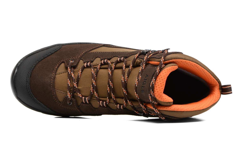 Arven Mid MTD Dark Brown/Orange