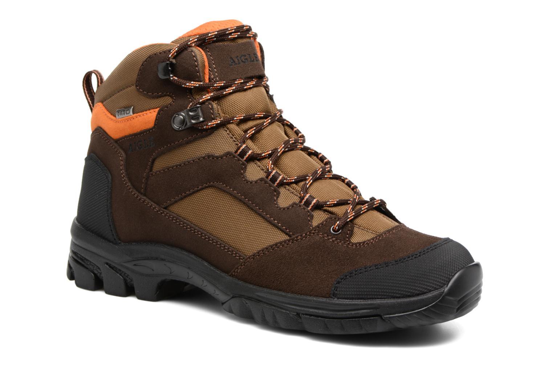 Chaussures de sport Aigle Arven Mid MTD Marron vue détail/paire