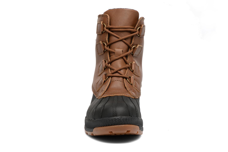 Chaussures de sport Aigle Tenere Warm BT Marron vue portées chaussures
