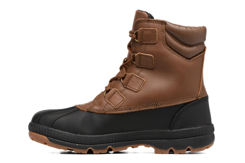 Chaussures de sport Aigle Tenere Warm BT Marron vue face