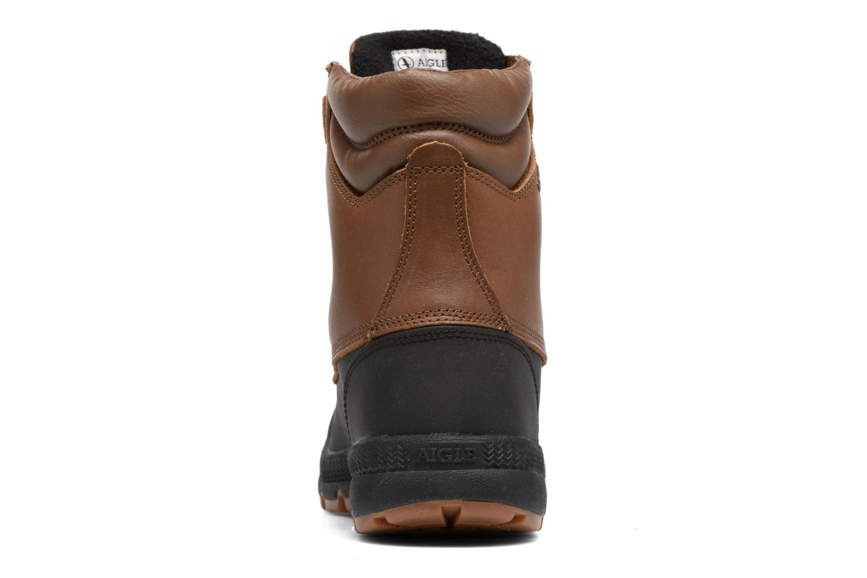 Chaussures de sport Aigle Tenere Warm BT Marron vue droite