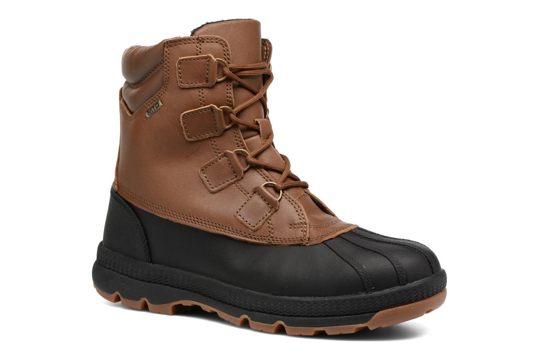 Chaussures de sport Aigle Tenere Warm BT Marron vue détail/paire