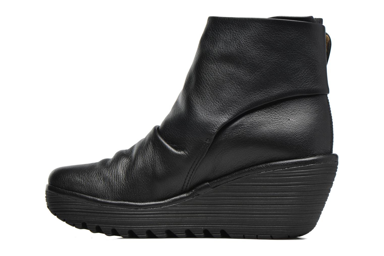 Bottines et boots Fly London YOMI Noir vue face