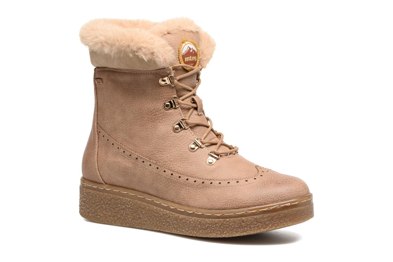 Bottines et boots MTNG Gras Beige vue détail/paire
