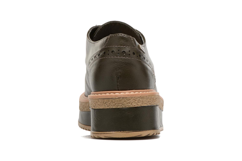 Chaussures à lacets MTNG Ed Vert vue droite