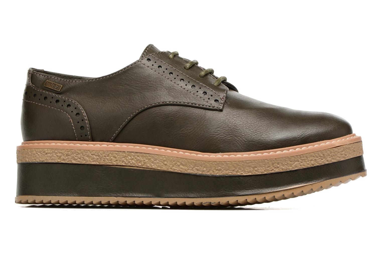 Chaussures à lacets MTNG Ed Vert vue derrière