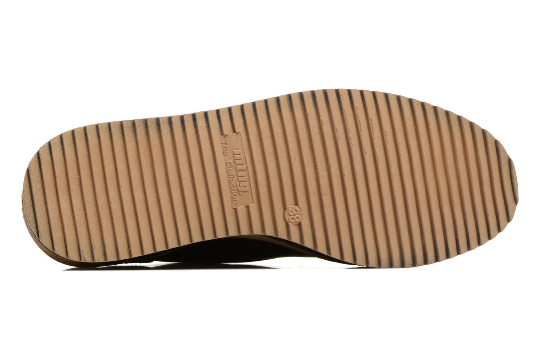 Chaussures à lacets MTNG Ed Vert vue haut