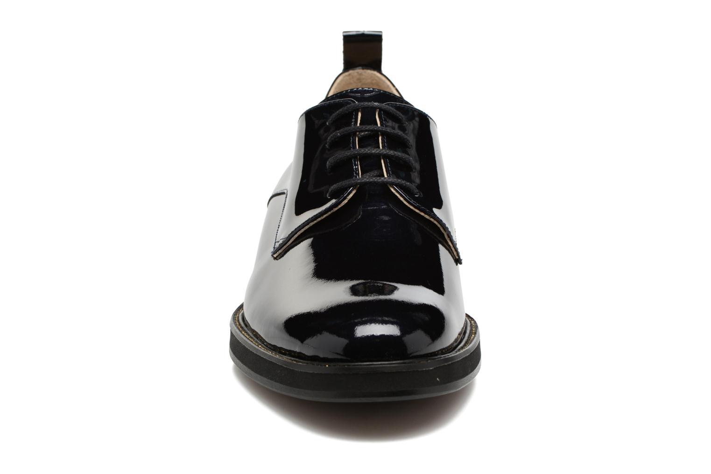 Chaussures à lacets MAURICE manufacture Jem Bleu vue portées chaussures