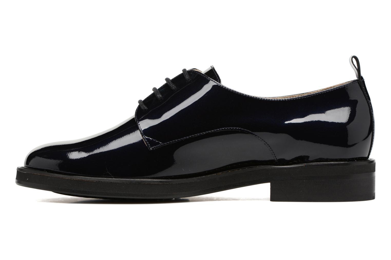 Chaussures à lacets MAURICE manufacture Jem Bleu vue face
