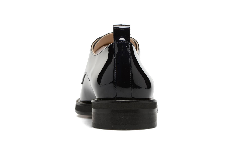 Chaussures à lacets MAURICE manufacture Jem Bleu vue droite