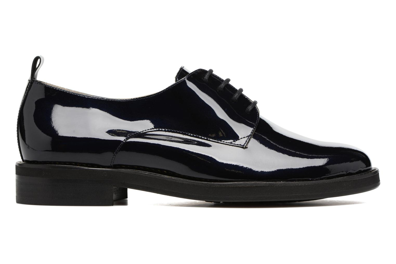 Chaussures à lacets MAURICE manufacture Jem Bleu vue derrière