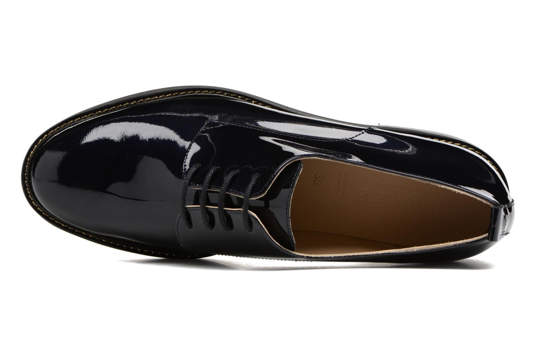 Chaussures à lacets MAURICE manufacture Jem Bleu vue gauche