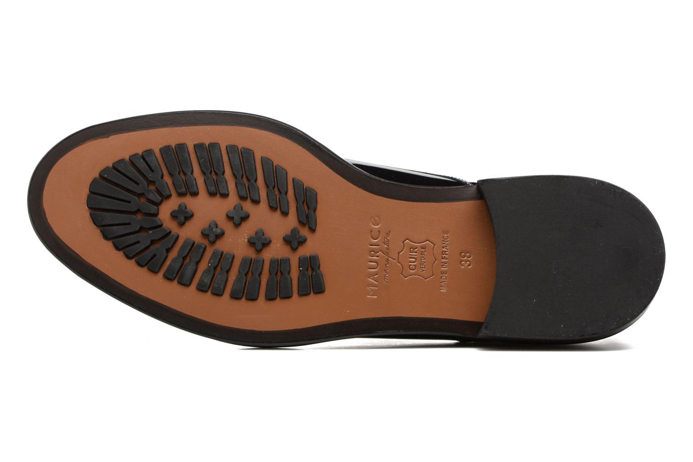 Chaussures à lacets MAURICE manufacture Jem Bleu vue haut