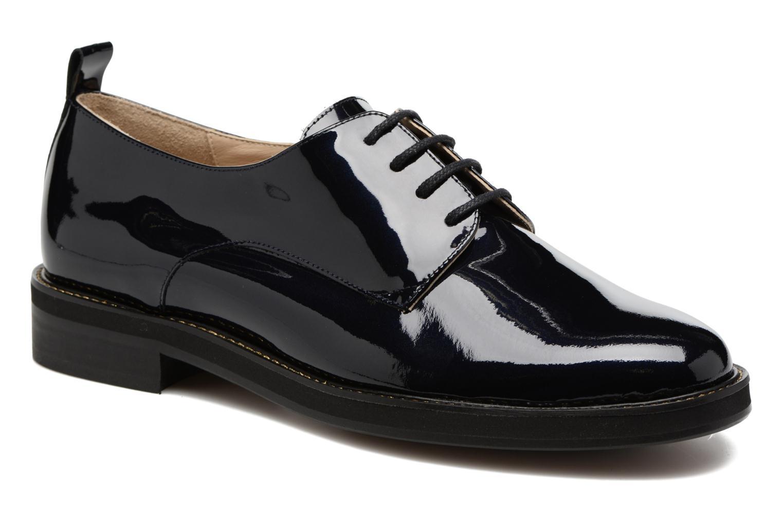 Chaussures à lacets MAURICE manufacture Jem Bleu vue détail/paire