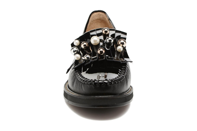 Mocassins MAURICE manufacture Hansel Noir vue portées chaussures