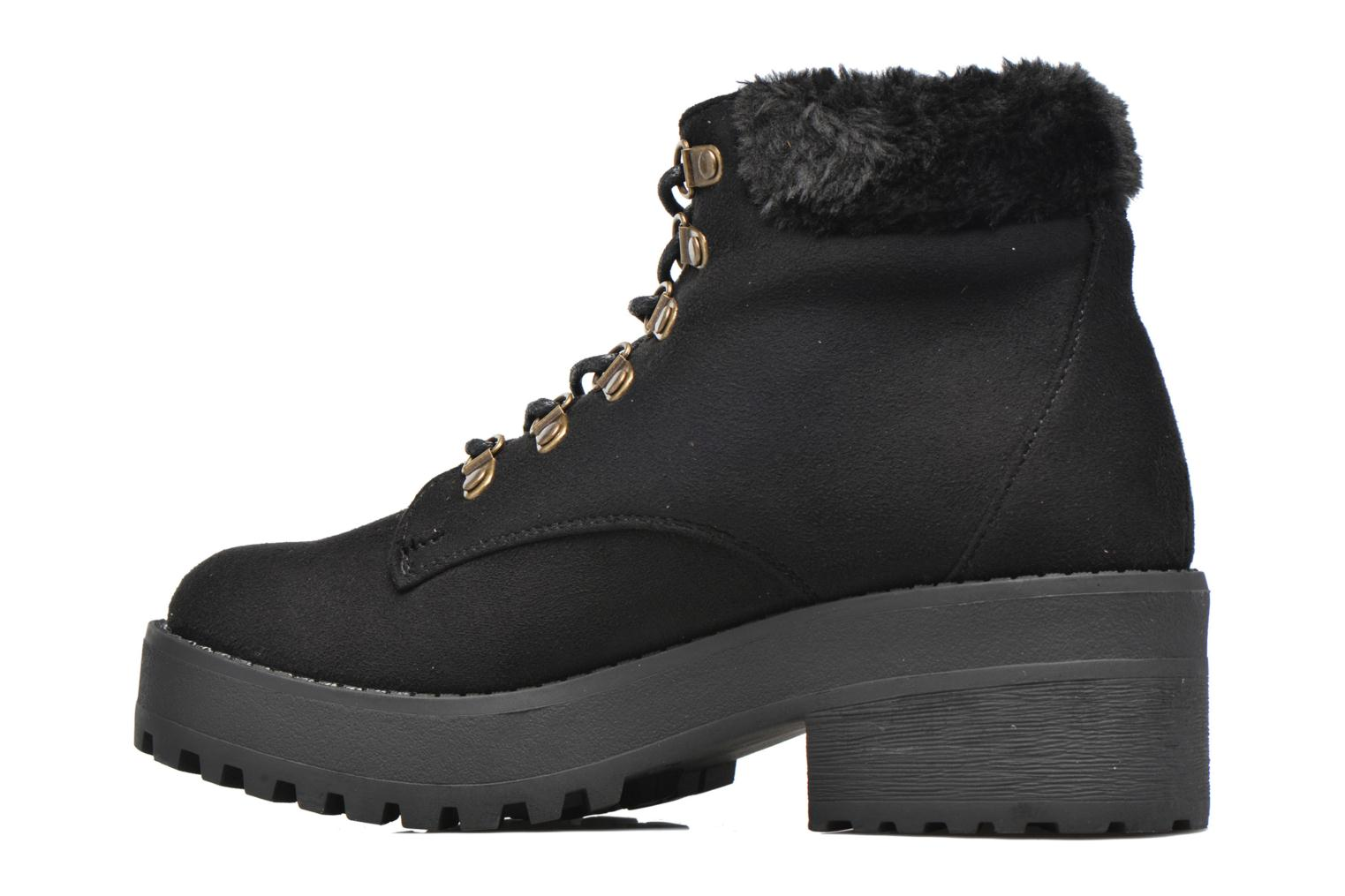 Ankle boots Coolway Moscu Black front view