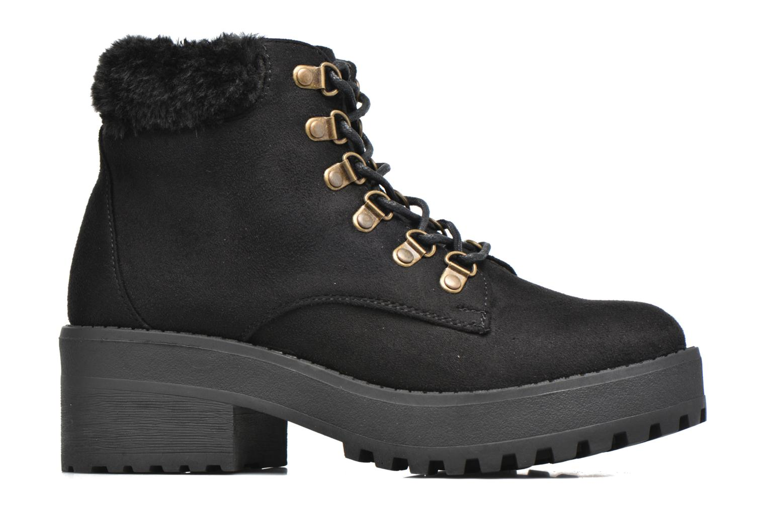 Ankle boots Coolway Moscu Black back view