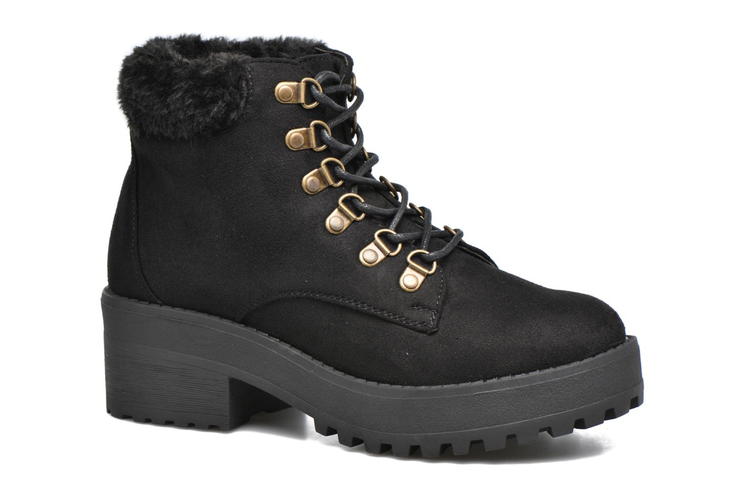 Ankle boots Coolway Moscu Black detailed view/ Pair view