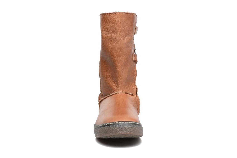 Bottes Achile Dubrovnik Marron vue portées chaussures