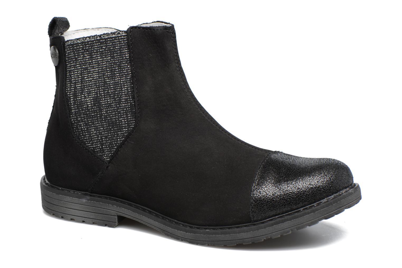 Ankelstøvler Achile Leontina Sort detaljeret billede af skoene