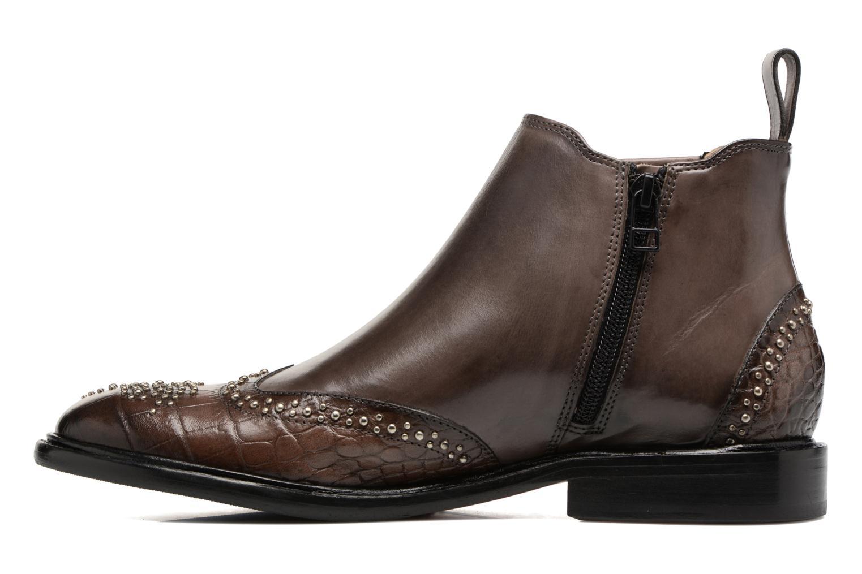 Bottines et boots Melvin & Hamilton Sally 46 Bleu vue face