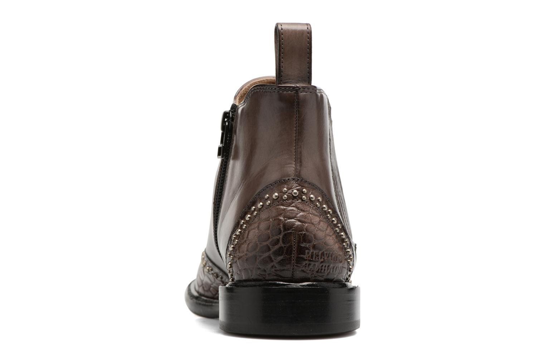 Bottines et boots Melvin & Hamilton Sally 46 Bleu vue droite