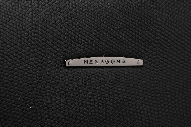 Sacs à main Hexagona Porté épaule Cameleon Noir vue gauche