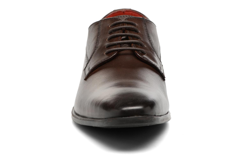 Chaussures à lacets Base London Penny Marron vue portées chaussures