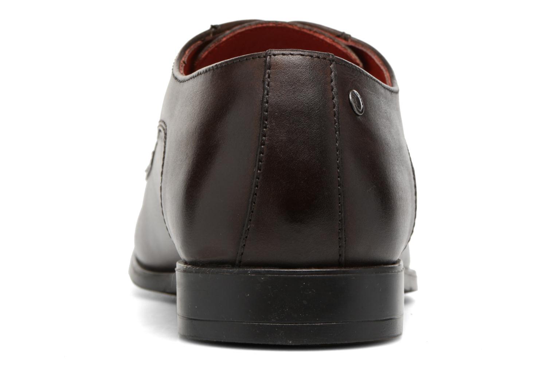 Chaussures à lacets Base London Penny Marron vue droite