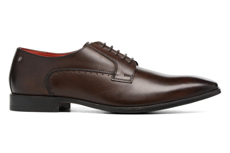 Chaussures à lacets Base London Penny Marron vue derrière