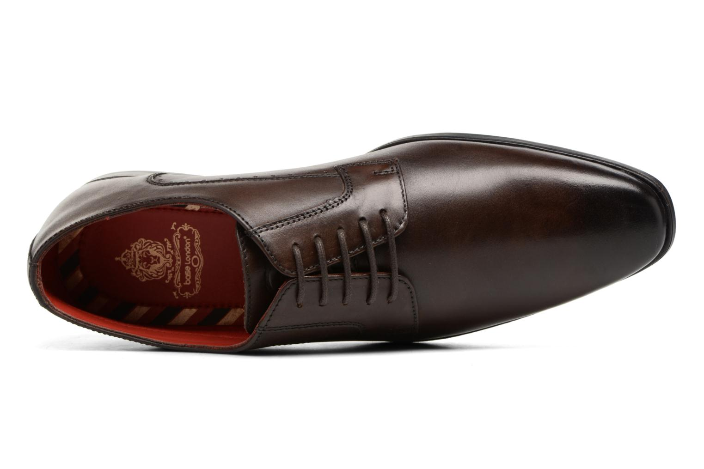 Chaussures à lacets Base London Penny Marron vue gauche
