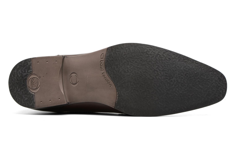Chaussures à lacets Base London Penny Marron vue haut