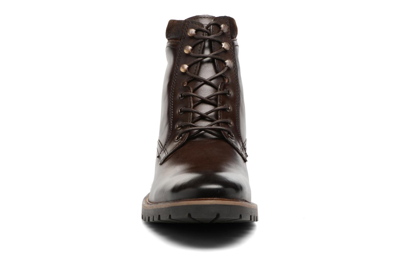 Bottines et boots Base London York Marron vue portées chaussures