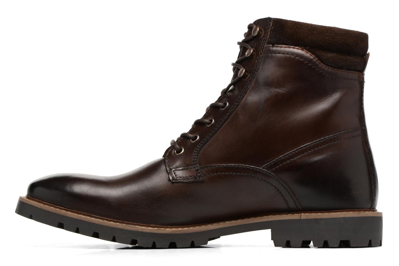 Bottines et boots Base London York Marron vue face