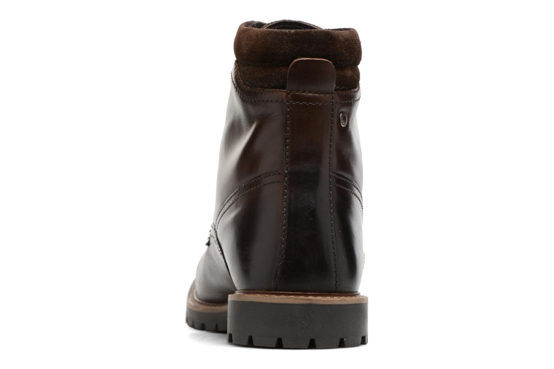 Bottines et boots Base London York Marron vue droite