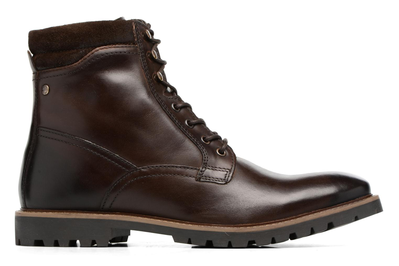 Bottines et boots Base London York Marron vue derrière