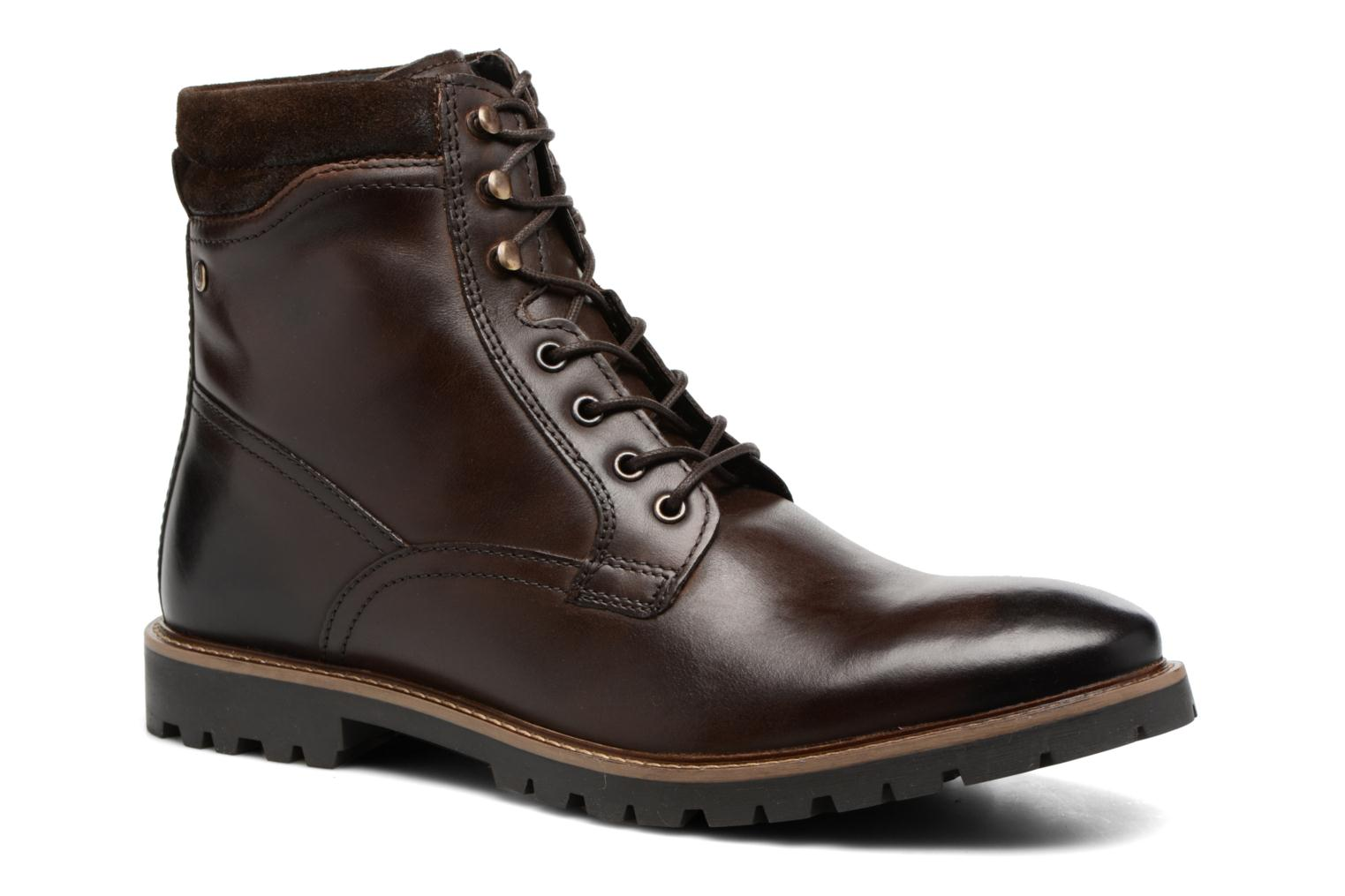 Ankle boots Base London York Brown detailed view/ Pair view