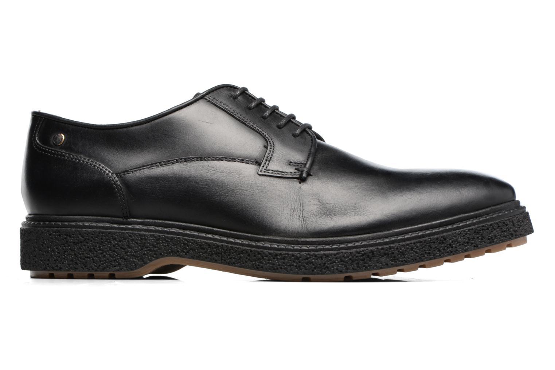 Chaussures à lacets Base London Riot Noir vue derrière