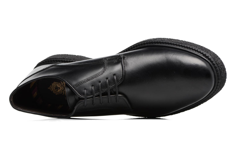 Chaussures à lacets Base London Riot Noir vue gauche