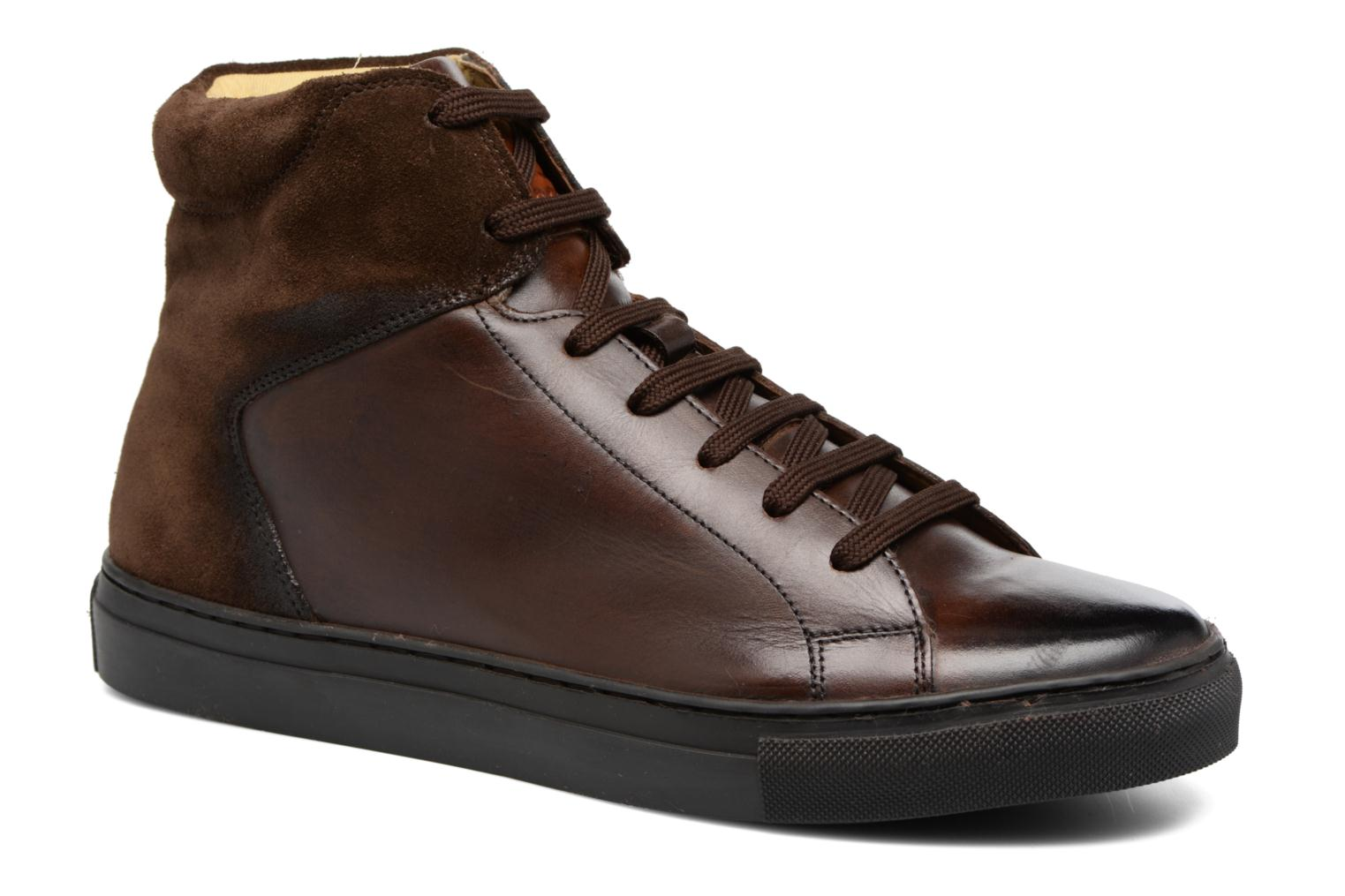 Jarret Washed Suede Brown